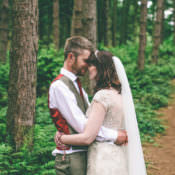 Rustic Woodland & Birds Outdoorsy Wedding