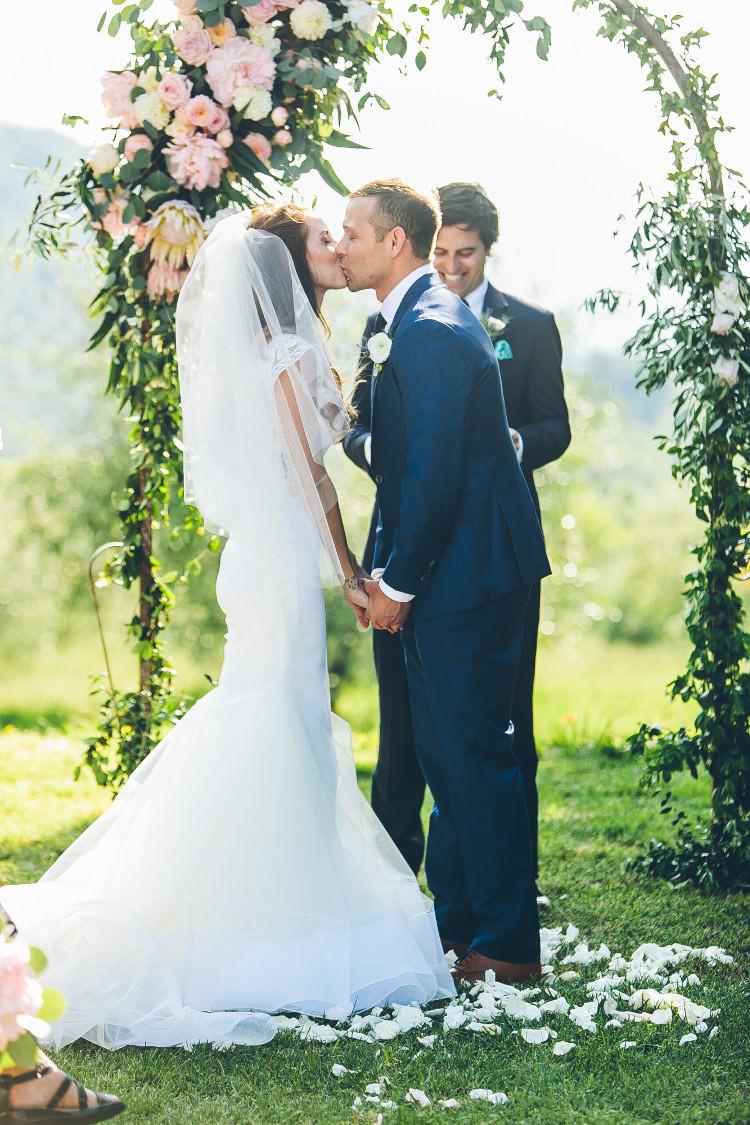 Beautiful Pink Blue Tuscany Villa Wedding http://www.chloemurdochphotography.com/