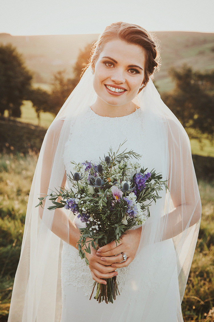 Bride Bridal Make Up Natural Beautiful Flowery Country Marquee Wedding http://www.maddiefarrisphotography.co.uk/