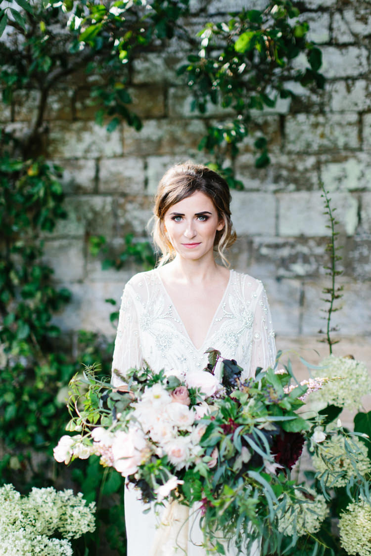 Wild Romance Greenery Wedding Ideas http://www.melissabeattie.com/