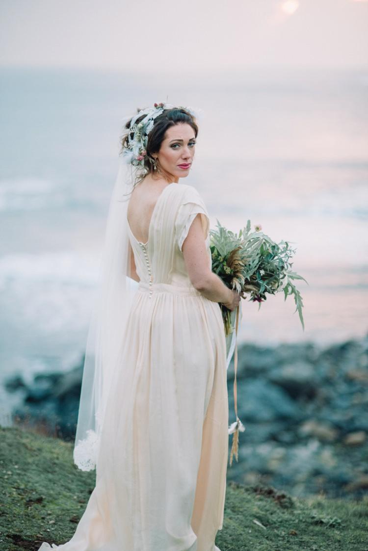 Veil Bride Bridal Wedding Bohemian Styled Vow Renewal https://libertypearlphotography.com/