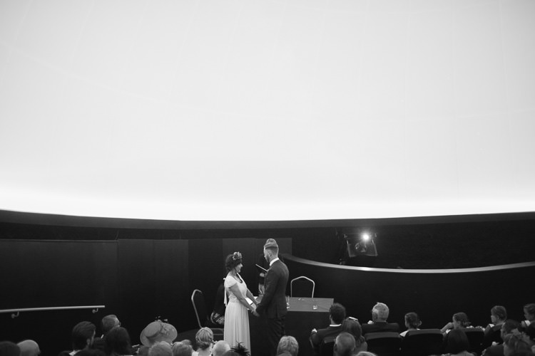 Planetarium Space Frida Kahlo Colourful Wedding http://carohutchings.com/