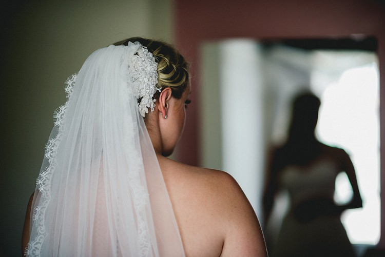 Lace Veil Bride Bridal All Things Big Bright Beautiful Multicolour Wedding http://benjaminmathers.co.uk/
