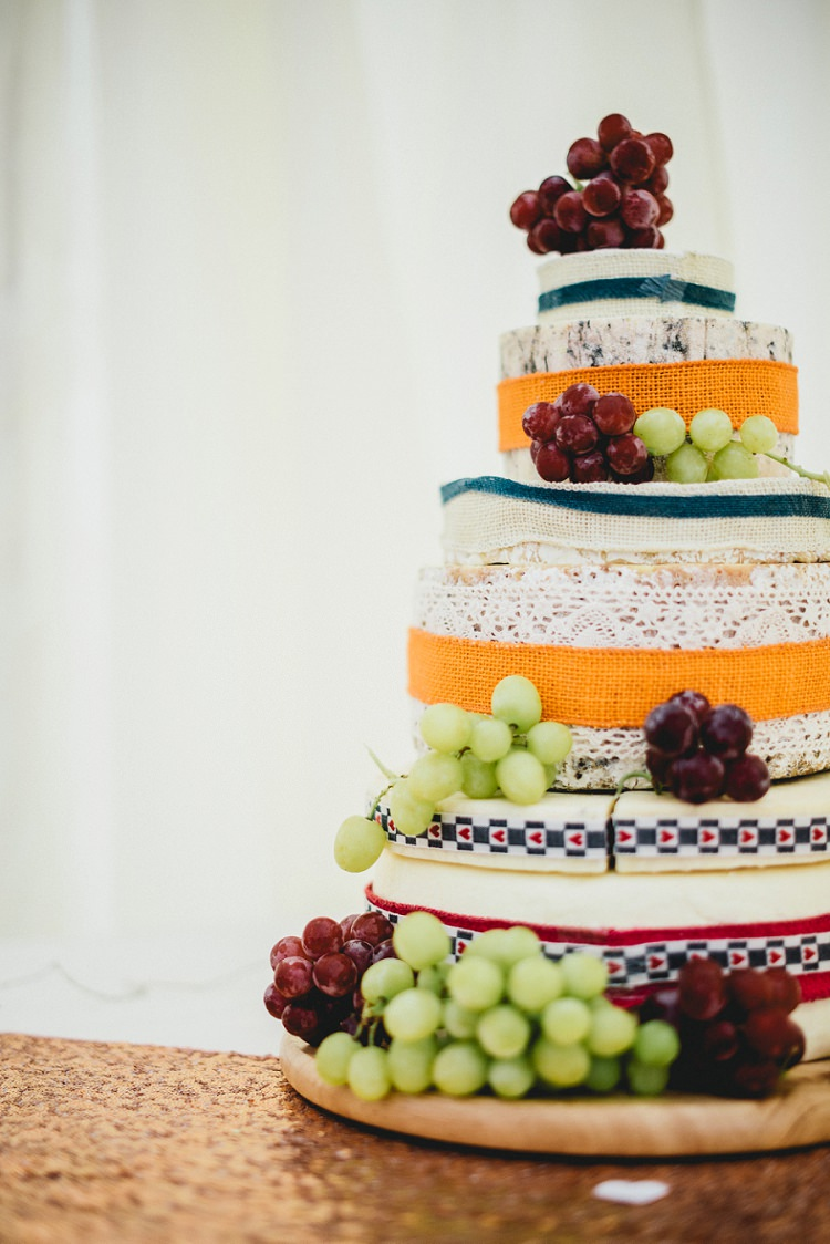 Cheese Cake Stack Layer Tower All Things Big Bright Beautiful Multicolour Wedding http://benjaminmathers.co.uk/