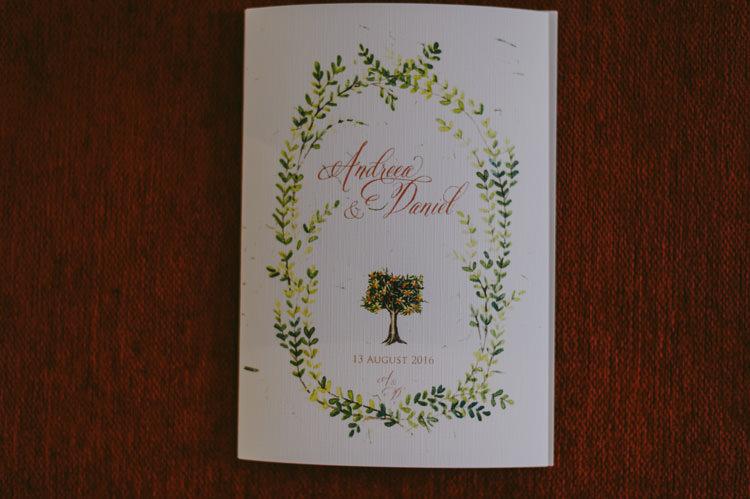Wedding Stationery White Green Calligraphy Natural Greenery Stylish Wedding Transylvania https://raresion.com/