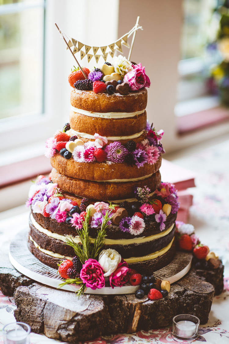 diy wedding cake flowers pretty diy amp outdoor wedding whimsical 13631