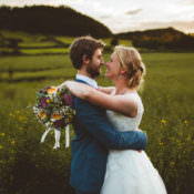 Pretty DIY & Outdoor Village Hall Wedding