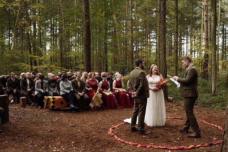 Camp Katur Yorkshire Outdoor Woodland Autumn Banquet Wedding http://toastofleeds.co.uk/