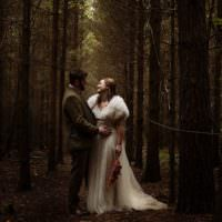 Outdoor Woodland Autumn Banquet Wedding http://toastofleeds.co.uk/