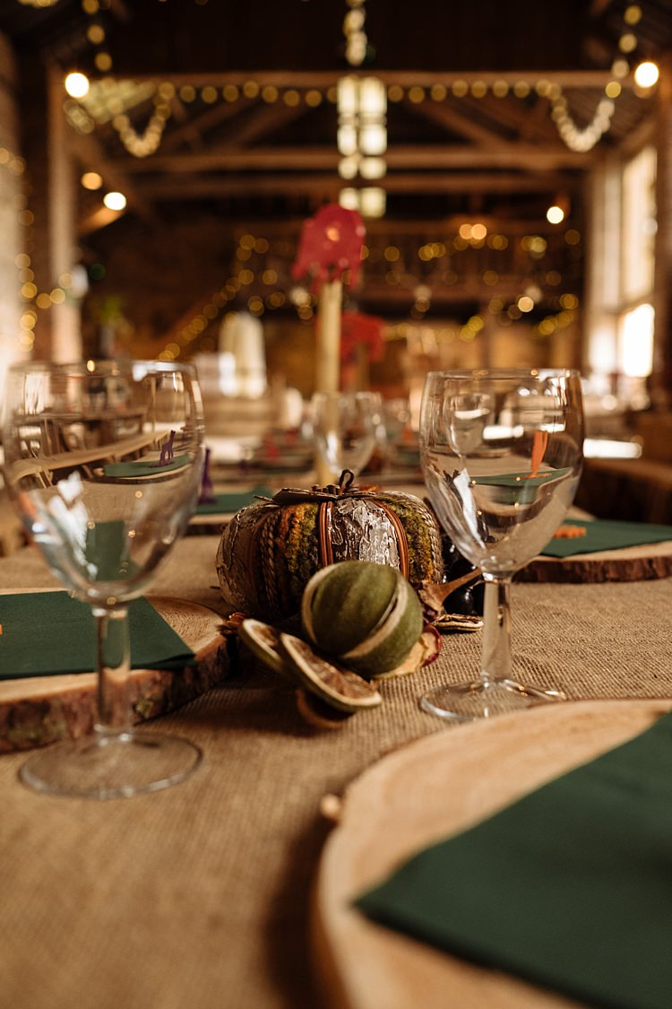 Rustic Decor Hessian Outdoor Woodland Autumn Banquet Wedding http://toastofleeds.co.uk/
