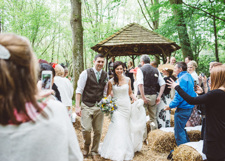 Paper Mill Kent Venue Ceremony Natural Woodland Hessian Lace Wedding http://holliecarlinphotography.com/