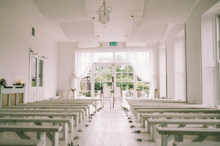 Fabrics Drapes Ceremony Pretty Light Pink Country House Wedding http://jonathanryderphotography.com/