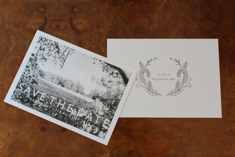 Illustrated Stationery Paper Pretty Intimate Indie Woodland Wedding http://www.caroweiss.com/