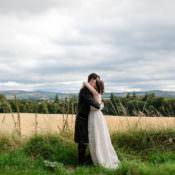 Intimate Indie Woodland Wedding