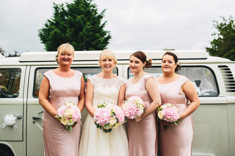Louise Bentley Bride Ghost Bridesmaids Relaxed Country Garden Party Wedding http://www.jessicaoshaughnessy.co.uk/
