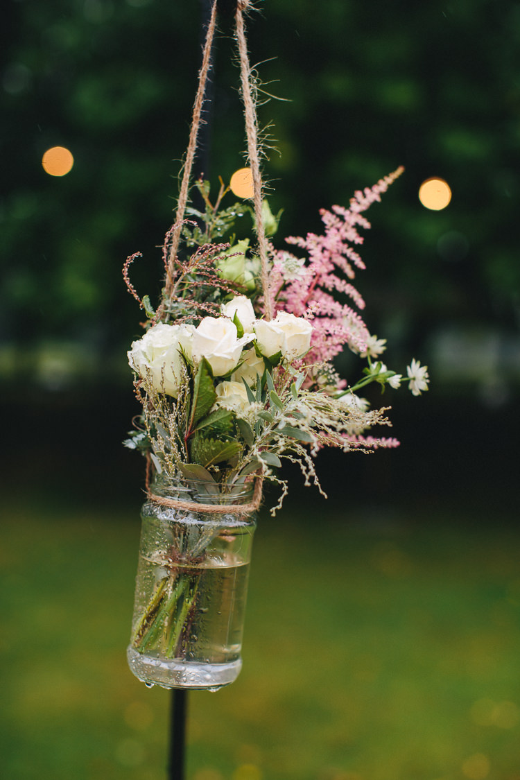 Florals Shepherds Crook White Rose Relaxed Country Garden Party Wedding http://www.jessicaoshaughnessy.co.uk/