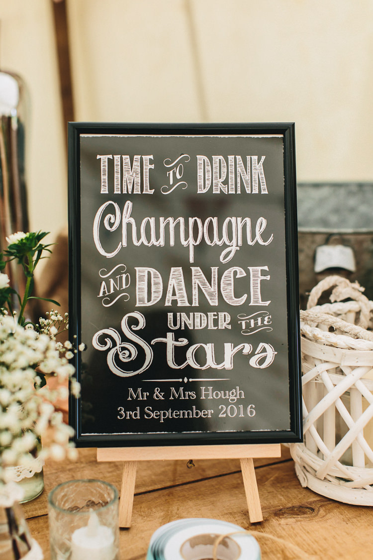 Wedding Signage Vintage Relaxed Country Garden Party Wedding http://www.jessicaoshaughnessy.co.uk/