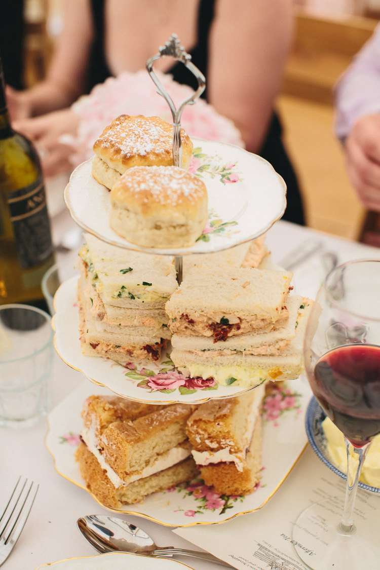 Afternoon Tea Vintage Relaxed Country Garden Party Wedding http://www.jessicaoshaughnessy.co.uk/