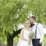 Whimsical Summery Lilac Wedding