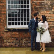 Sweet & Quirky Yellow Antique Wedding