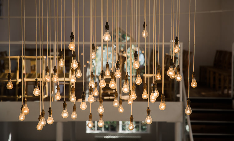 Lights Edison Bulbs Luxe Copper & Red Wedding Ideas http://www.danielle-smith-photography.com/