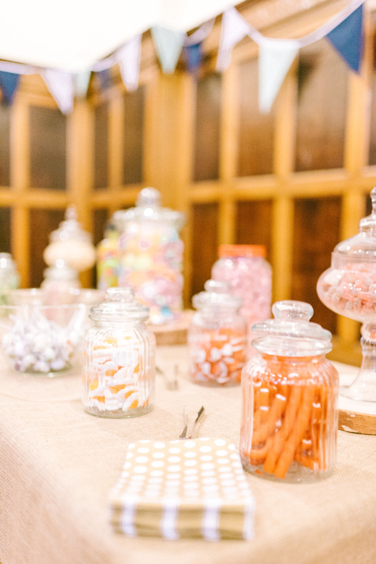 Sweets Sweetie Table Bar Station Playful Stylish Navy Winter Wedding http://sarahjaneethan.co.uk/