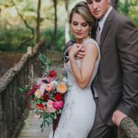 Bohemian & Whimsical Garden Wedding in North Carolina http://www.taylorparkerphotography.com/