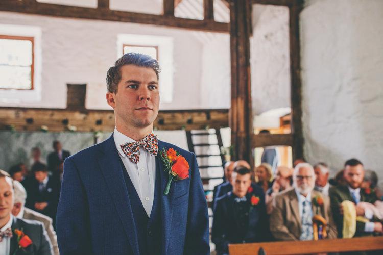 Liberty Print Bow Tie Groom Bright Retro Vintage Sea Wedding http://www.larissajoice.co.uk/