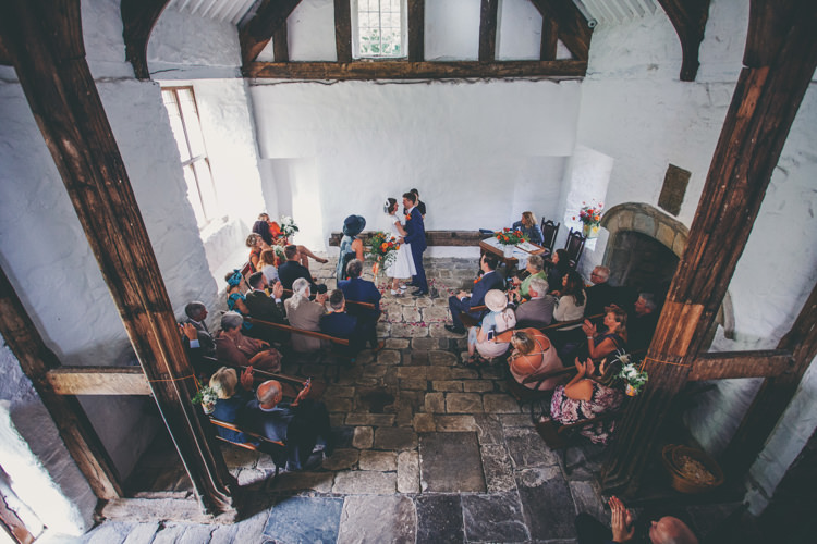 Penarth Fawr Ceremony Wales Bright Retro Vintage Sea Wedding http://www.larissajoice.co.uk/