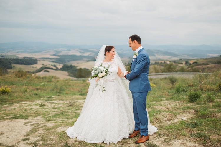 Justin Alexander Bridal Ted Baker Groom Beautiful Tuscan Villa Destination Wedding http://www.francessales.co.uk/