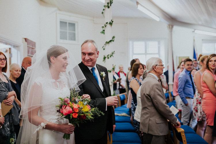 Stylish Hand Made Rainy Summer Barn Wedding http://www.kategrayphotography.com/