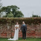 Stylish & Hand Made Rainy Summer Barn Wedding