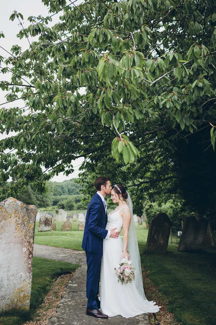 Bespoke Bridal Hugo Boss Groom Blush Navy DIY Tipi Wedding Home http://www.kategrayphotography.com/