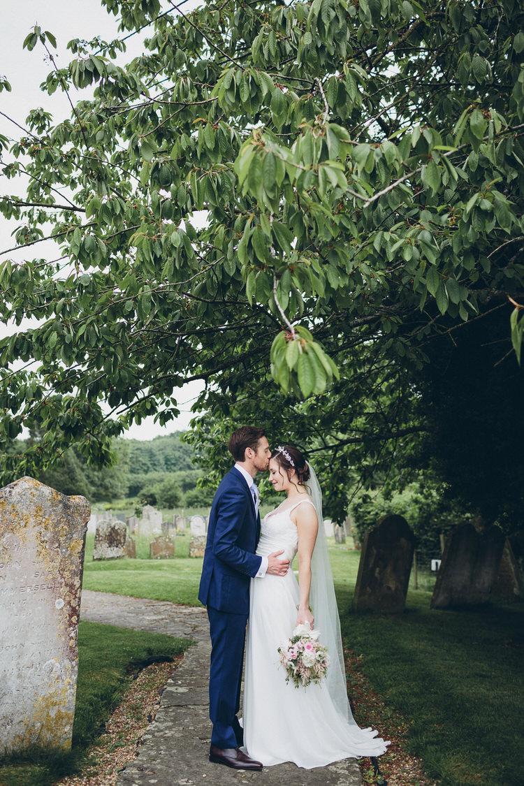 Bespoke Bridal Hugo Boss Groom Blush Navy DIY Tipi Wedding Home http://www.kategrayphotography.com/