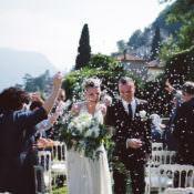 Botanical Copper & Greenery Lake Como Wedding