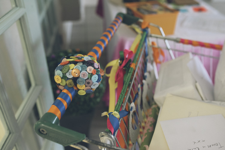 Shopping Trolley Gift Card Holder Alternative Creative Budget Wedding http://www.petecranston.com/