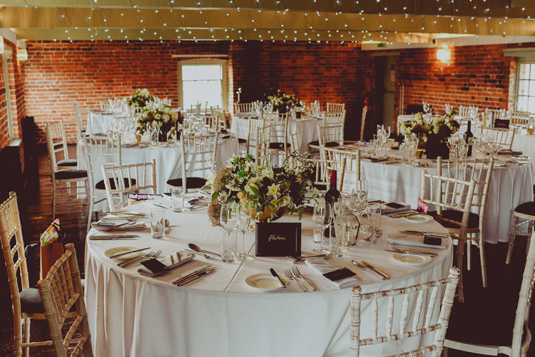 Sopley Mill Dorset Modern Minimal Botanical Winter Wedding http://bigbouquet.co.uk/