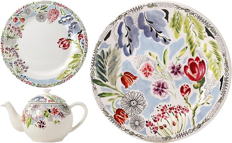 1Gien, Flora Plate at TWS £29