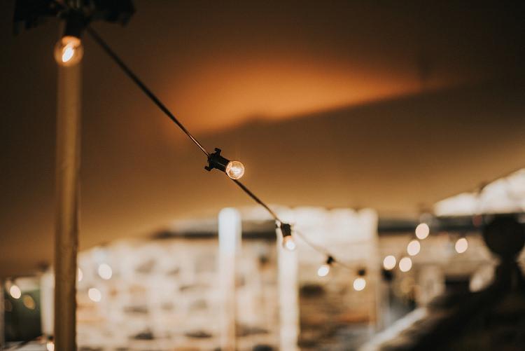 Festoon Lighting Enchanting Woodland Boho Wedding http://www.kerrydiamondphotography.com/