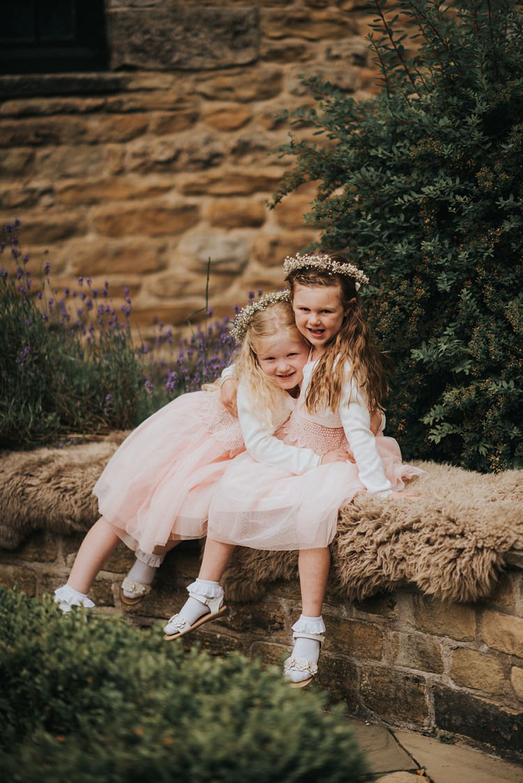 Flower Girls Children Kids Enchanting Woodland Boho Wedding http://www.kerrydiamondphotography.com/
