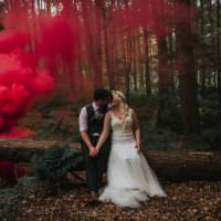 Enchanting Woodland Boho Wedding http://www.kerrydiamondphotography.com/