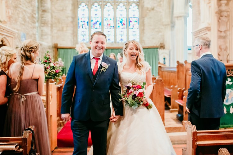 Bride Bridal Ivory & Co Dress A-Line M&S Groom Navy Fun Colourful Modern Music Wedding http://hollycollingsphotography.com/