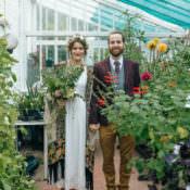 Delightfully Natural & Pretty Garden Wedding