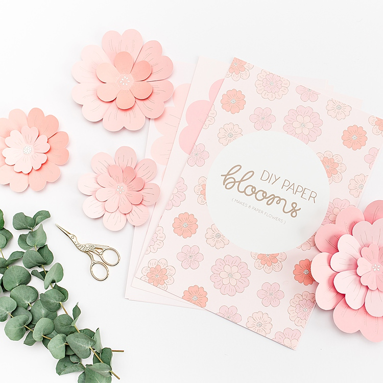 Bea and Bloom DIY Paper Blooms