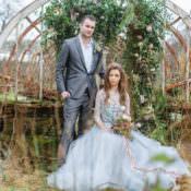 Botanical Beauty Abandoned Greenhouse Wedding Ideas