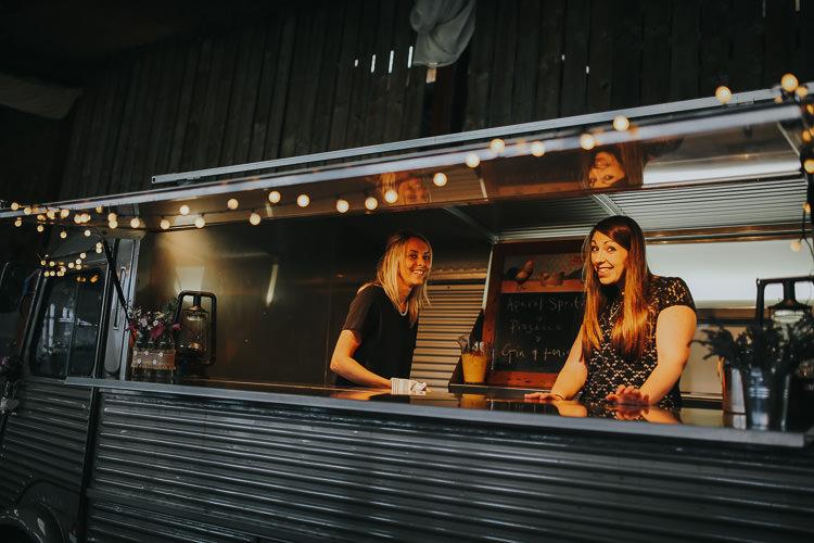 Classic Citroen Vintage Van Bar Festoon Lighting DIY Farm Weekend Long Wedding http://www.nestalloyd.co.uk/