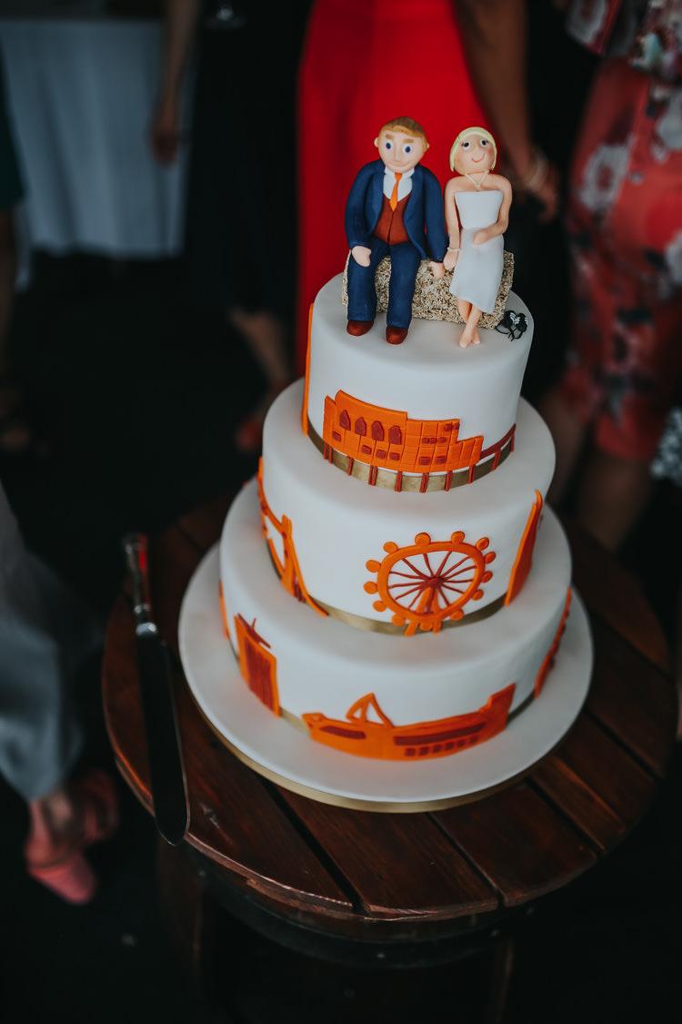 Cake Iced Couple Topper Personalised DIY Farm Weekend Long Wedding http://www.nestalloyd.co.uk/