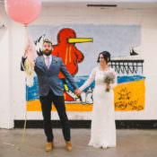 Fun-Loving Low Key Pub Wedding