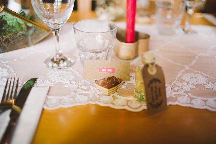 Label Name Card Fun-Loving Low Key Pub Wedding https://www.oliviajudah.co.uk/