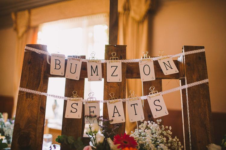 Seating Plan Table Chart Bums On Seats Cards Fun-Loving Low Key Pub Wedding https://www.oliviajudah.co.uk/